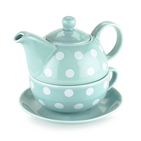 Pinky Up: Addison - Tea for One Set (Polka Dot)