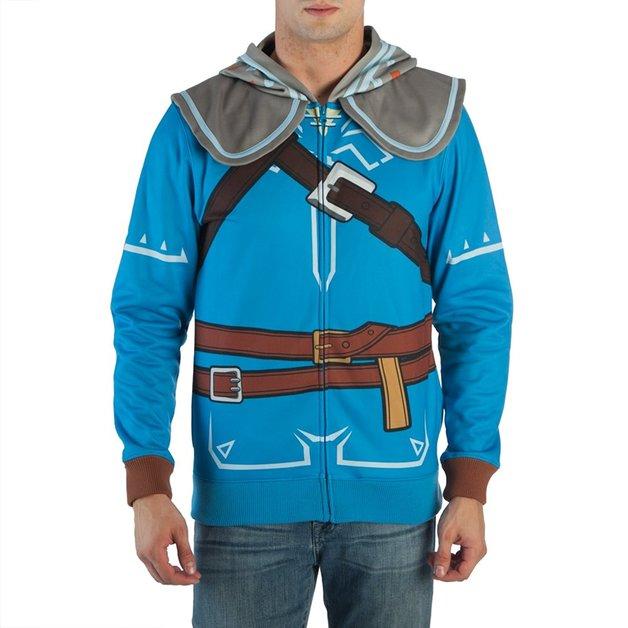 Legend of Zelda: Breath of the Wild - Suit Up Hoodie (Small)