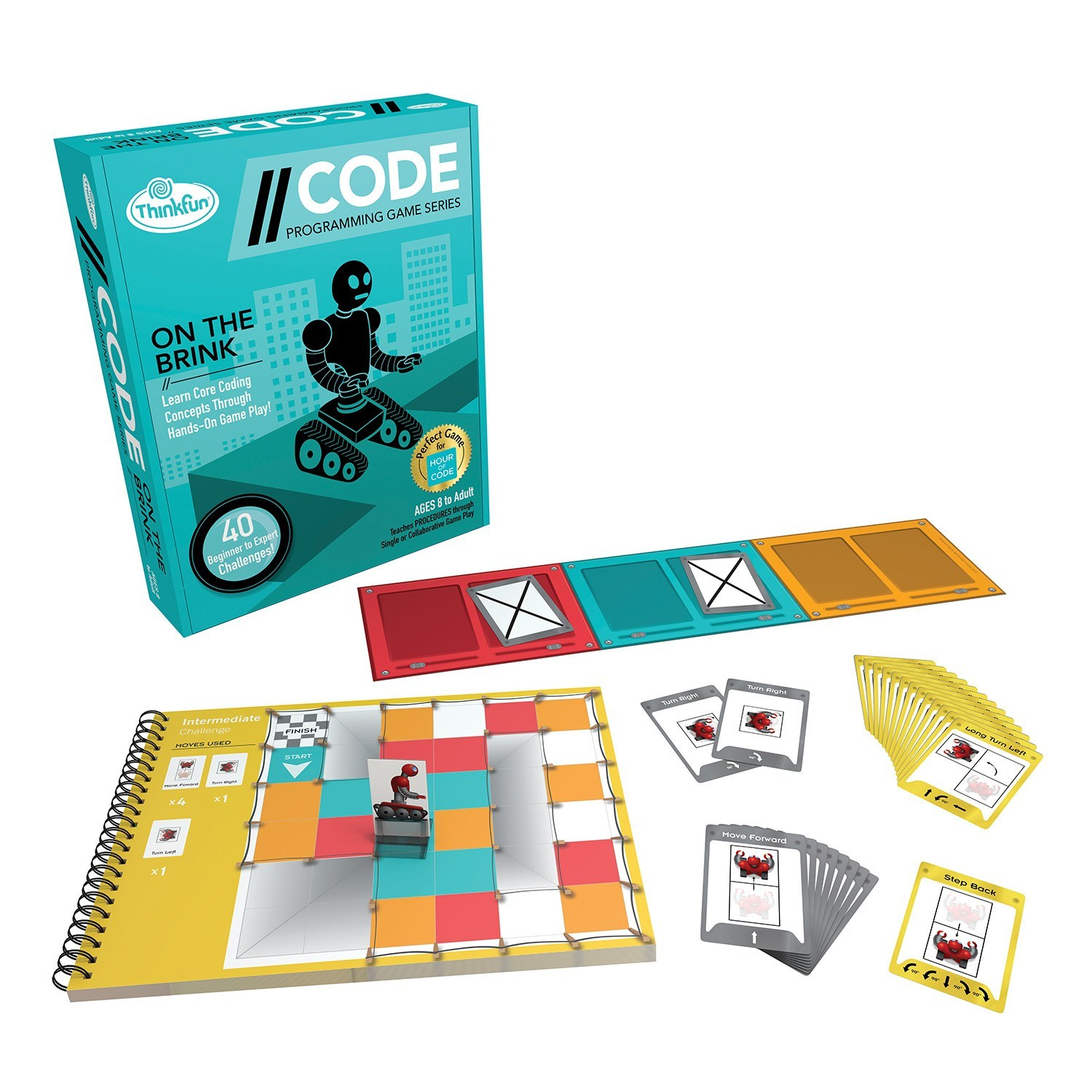 Code On The Brink Game Toy At Mighty Ape Nz Circuit Maze Thinkfun Image