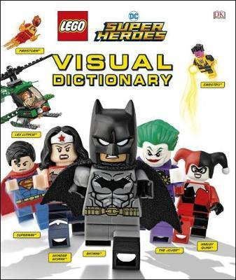 Lego DC Comics Super Heroes Visual Dictionary (Library Edition) by Elizabeth Dowsett image