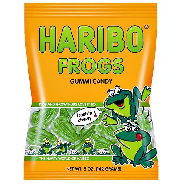 Haribo Frogs (142gms)
