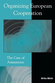Organizing European Cooperation by Ulrika Morth