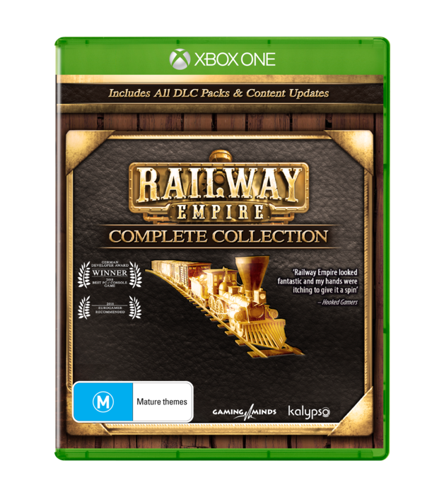 Railway Empire Complete Collection for PS4, Xbox One