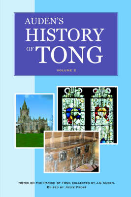 Auden's History of Tong: v. 2 by Joyce Frost image