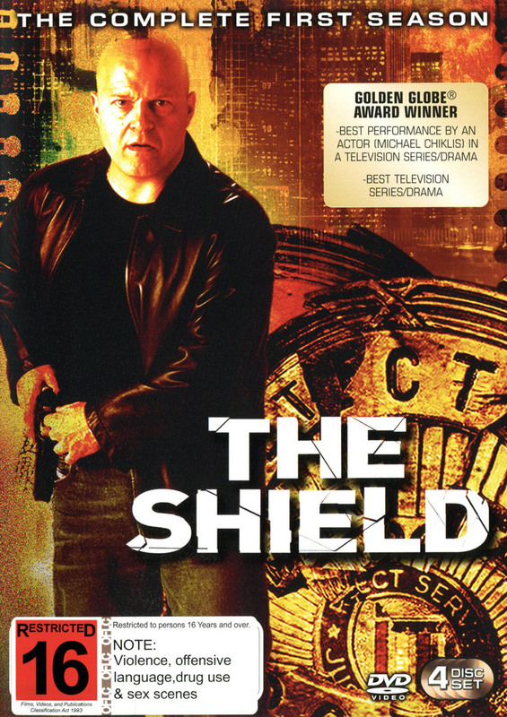 The Shield - The Complete First Season on DVD