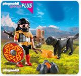 Playmobil - Barbarian with Dog at Campfire (4769)