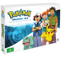 Pokemon: Seasons 1 & 2 Limited Edition Box Set on DVD