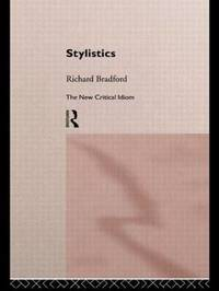 Stylistics by Richard Bradford image