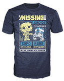 Star Wars - C-3PO & R2D2 Poster Pop! T-Shirt (S)
