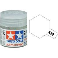 Tamiya Acrylic: Clear (X22)
