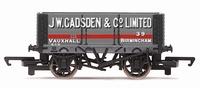 Hornby: 6 Plank Wagon 'J W Gadsden'