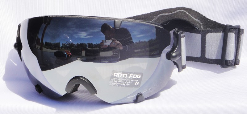 Mountain Wear Adult Mirrored Goggles: Black (G2022) image