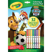 Crayola: Paw Patrol Colouring & Activity Pad