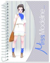 Miss Modeline A6 Notepad and Design Book - Joe image