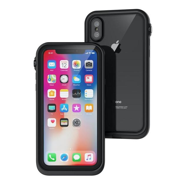 CATALYST Waterproof Case for iPhone X (Black)