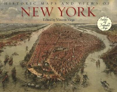Historic Maps And Views Of New York image