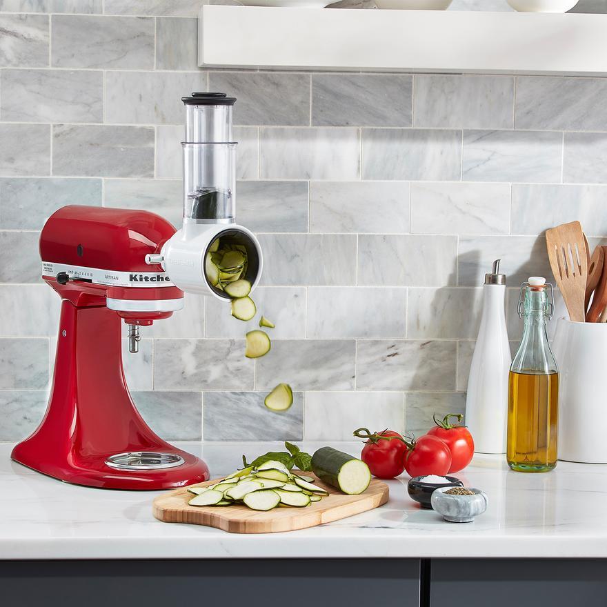 KitchenAid: Stand Mixer - Almond Cream + BONUS Attachment image
