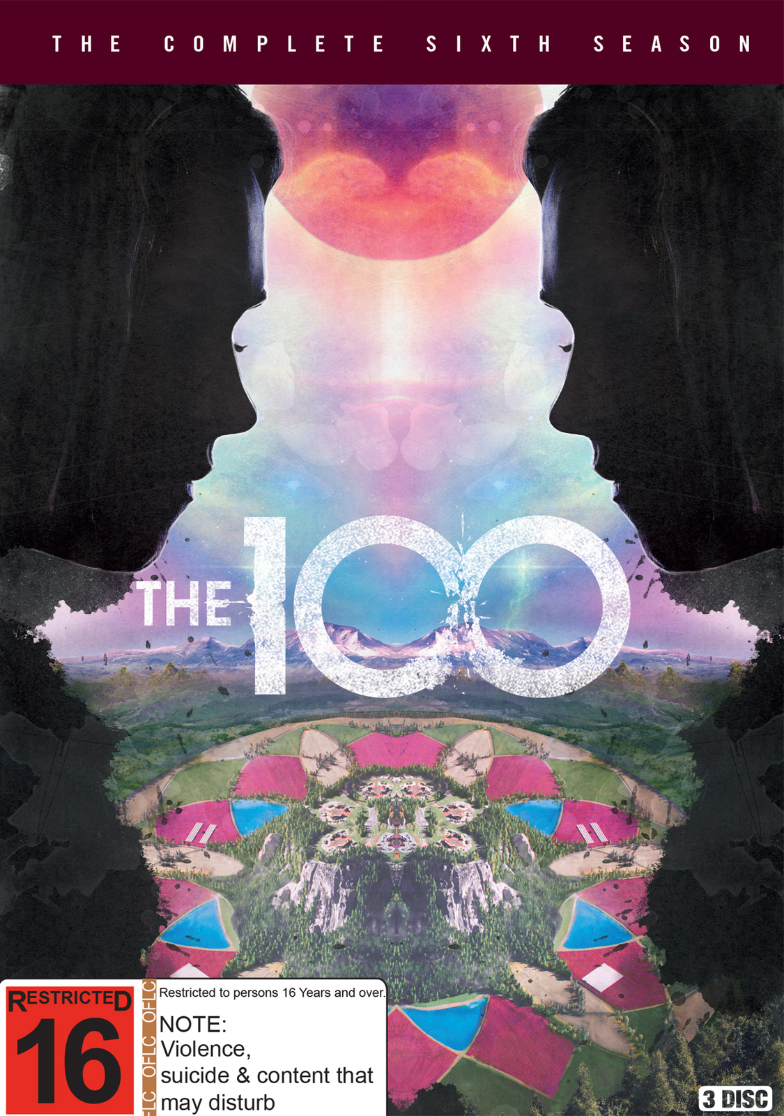 The 100 - The Complete Sixth Season on DVD image