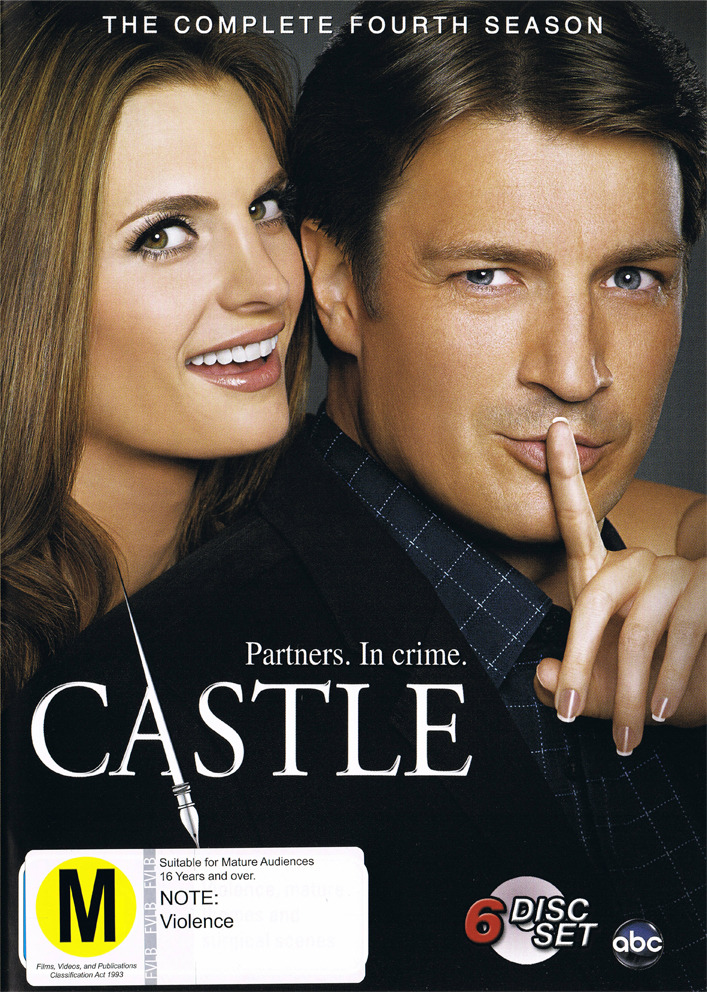 Castle - The Complete Fourth Season on DVD image