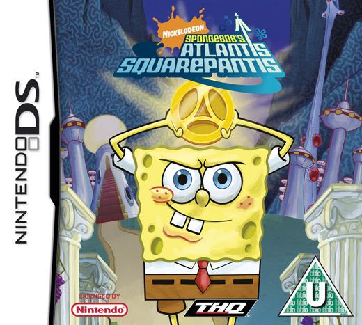 SpongeBob's Atlantis SquarePantis for Nintendo DS