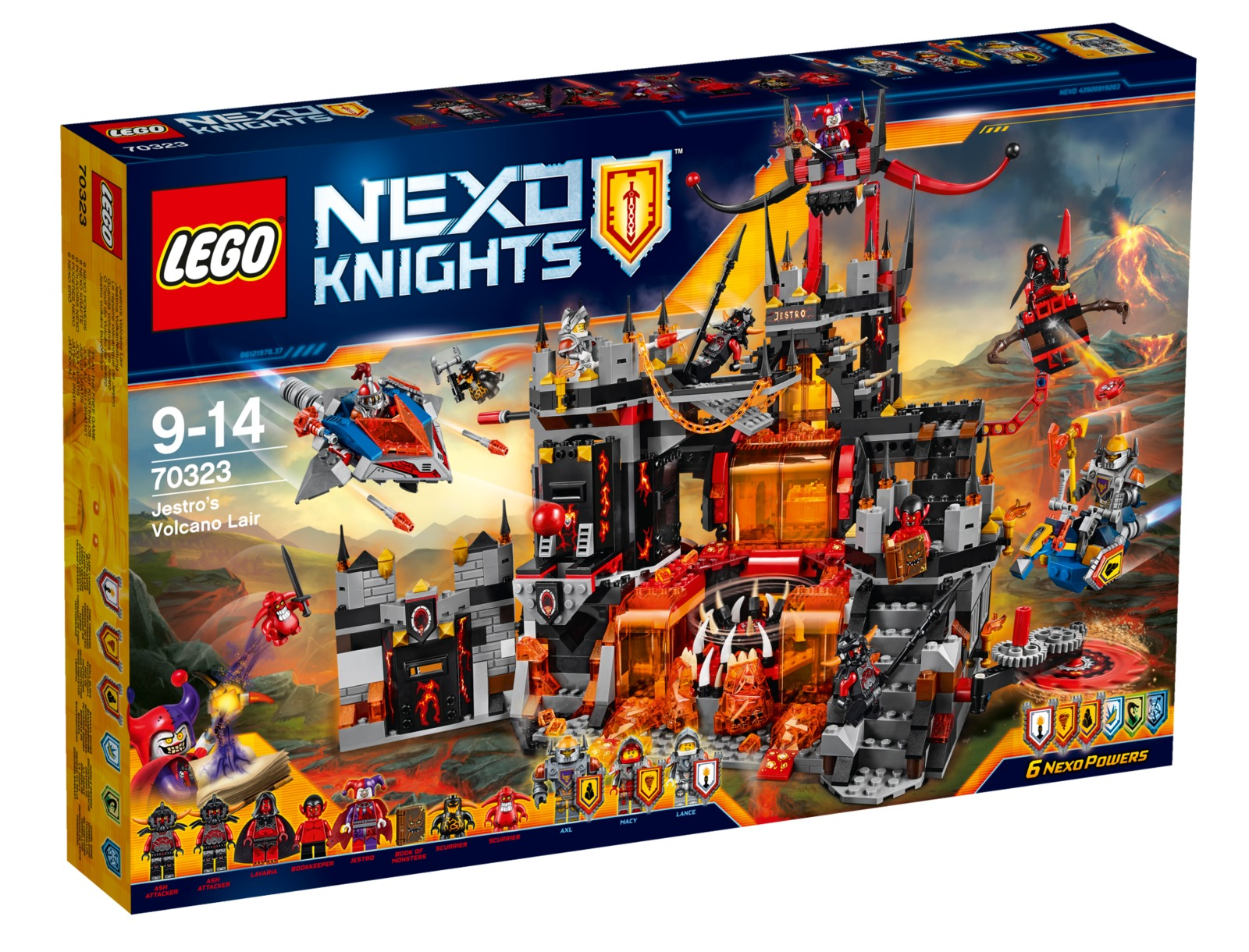 LEGO Nexo Knights - Jestro's Volcano Lair (70323)