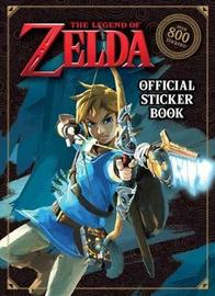 Legend of Zelda Official Sticker Book by Courtney Carbone