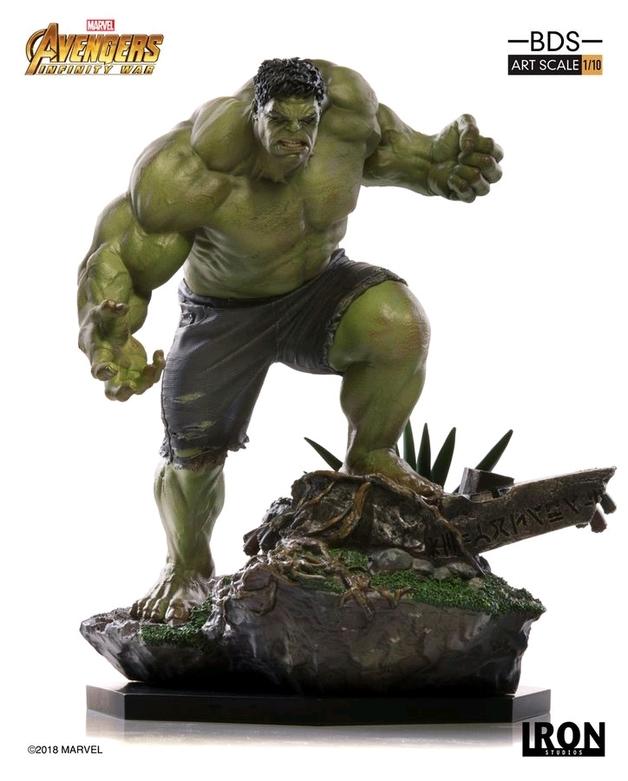 Marvel: 1/10 Hulk - Battle Diorama Statue