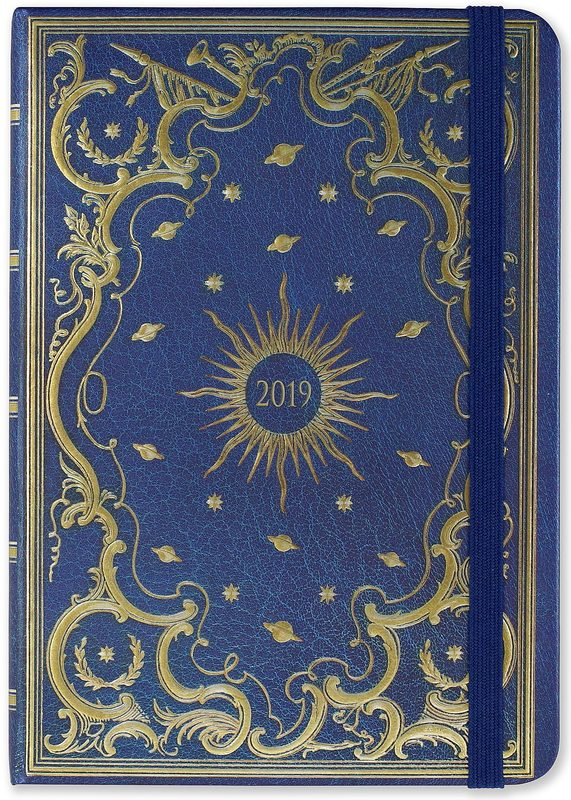 Peter Pauper: Celestial 16 Month 2019 Compact Diary