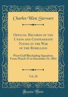 Official Records of the Union and Confederate Navies in the War of the Rebellion, Vol. 20 by Charles West Stewart image