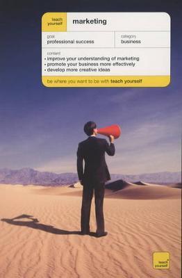 Teach Yourself Marketing by Jonathan Gabay