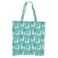 IS GIFT: Foldable Shopper - Cute Llamas