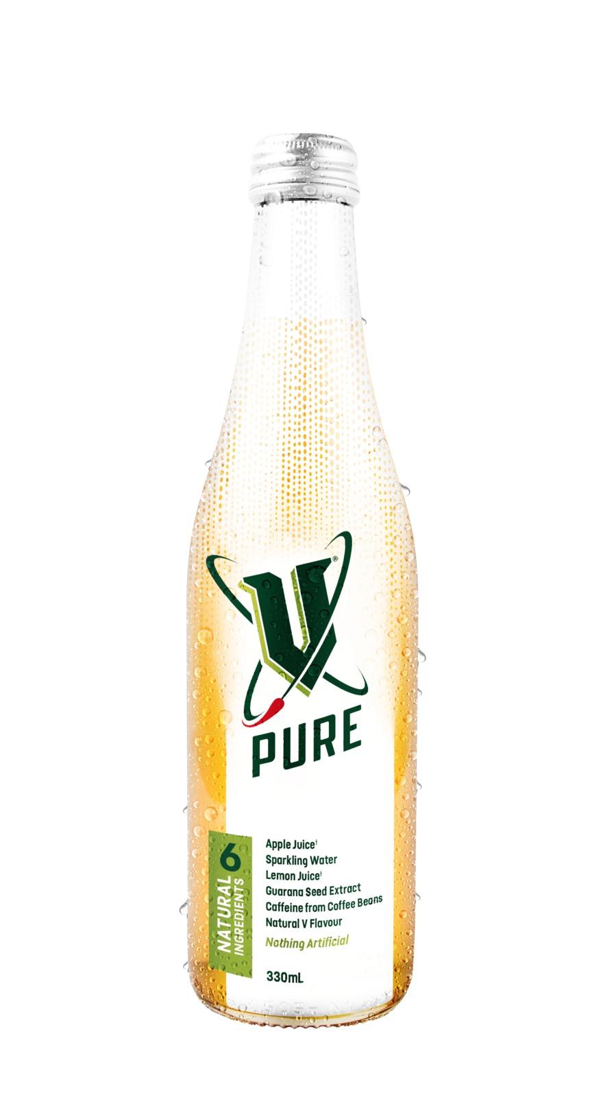 V Pure Bottles 330ml 12pk image
