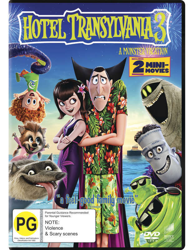 Hotel Transylvania 3 A Monster Vacation On DVD