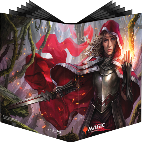 Ultra Pro: Magic The Gathering 9-Pocket Pro Binder – Throne of Eldraine Rowan