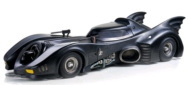 DC Comics: 1/10 Batmobile (1989) - Art Scale Statue