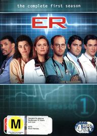 E.R. - The Complete 1st Season (4 Disc Set) on DVD image