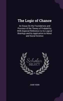 The Logic of Chance by John Venn image