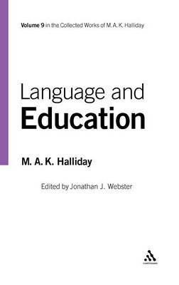 Language and Education by M.A.K. Halliday image
