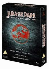 Jurassic Park - The Ultimate Collection (4 Disc Box Set) on DVD