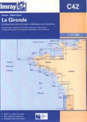 Embouchure De La Gironde to Bordeaux and Arcachon by Imray