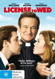 License To Wed on DVD image