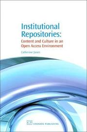 Institutional Repositories by Catherine Jones image