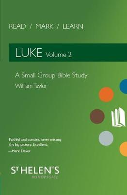Read Mark Learn: Luke Vol. 2 by William Taylor image