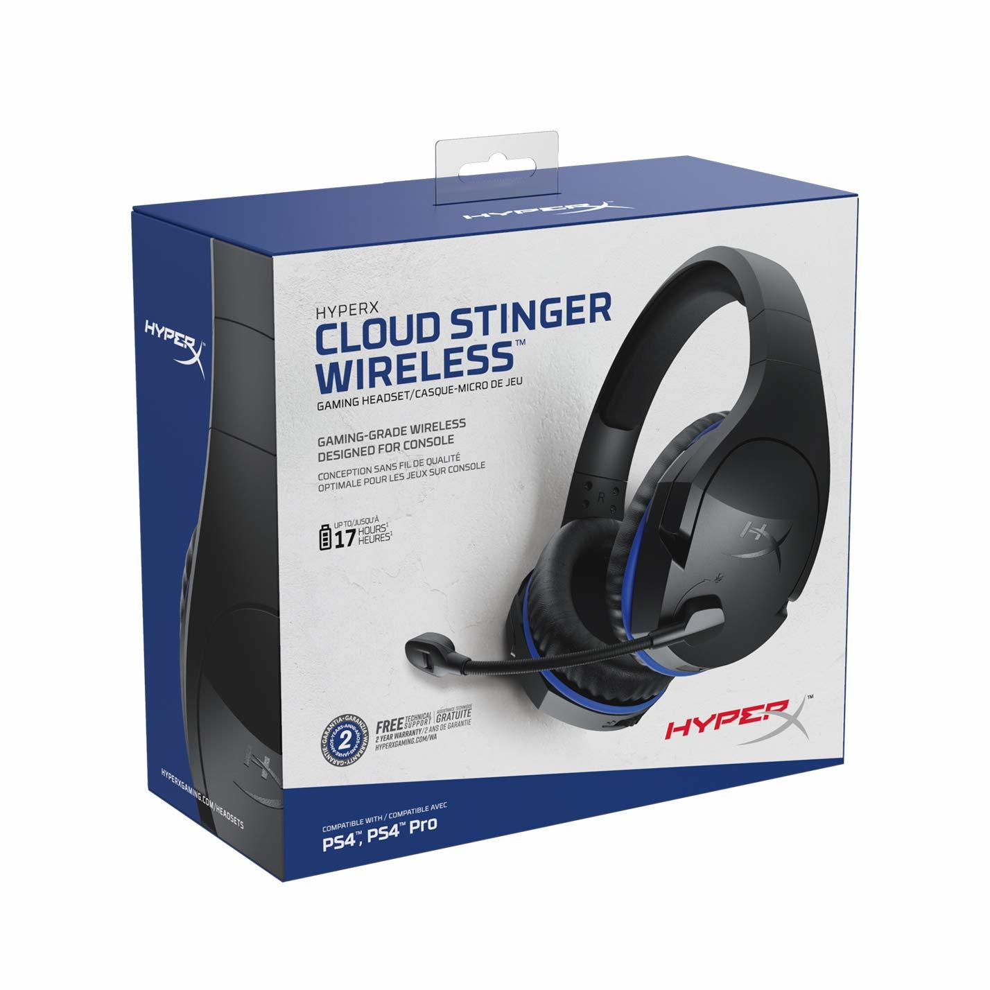 HyperX Stinger Wireless Gaming Headset for PS4 image