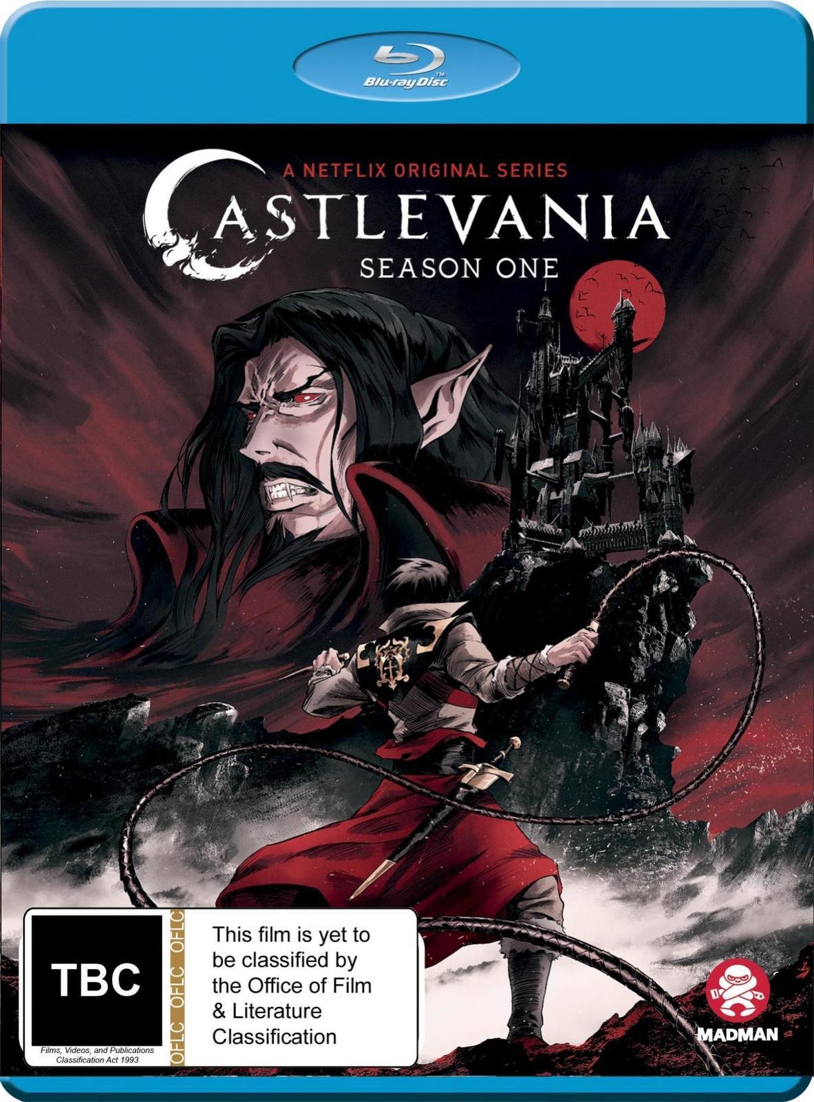 Castlevania: Complete Season 1 on Blu-ray image