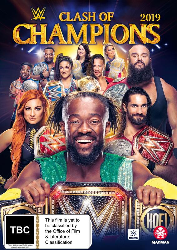 WWE: Clash of Champions 2019 on DVD