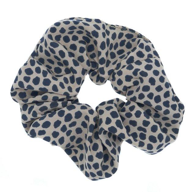 Hepburn & Co: Safari Scrunchie - Tan/Black