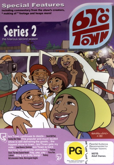 Bro' Town - Series 2 on DVD image