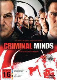 Criminal Minds - Season 2 (6 Disc Box Set) on DVD