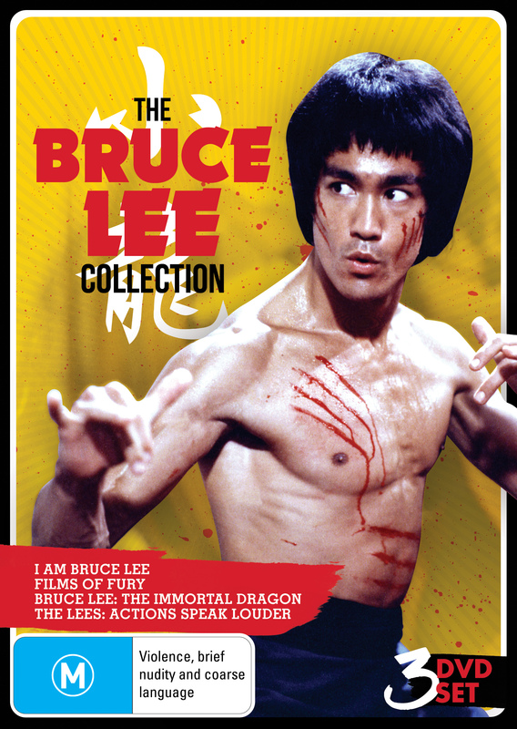 The Bruce Lee Collection (3 Disc Set) on DVD